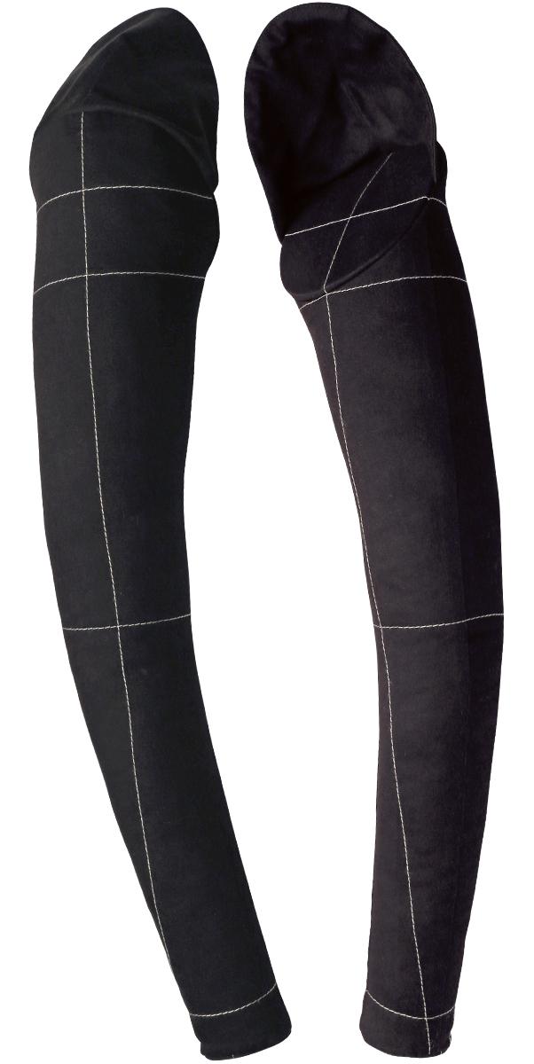 Комплект рук для манекена Royal Dress forms Monica, цвет: черный. Размер 50/524607824625523Комплект рук предназначен для использования вместе с портновским мягким манекеном модель Моника. Наполнитель: холофайбер. Обтяжка: хлопок 100% с нанесенными конструкторскими линиями. Предлагается в двух вариантах: бежевый и черный.