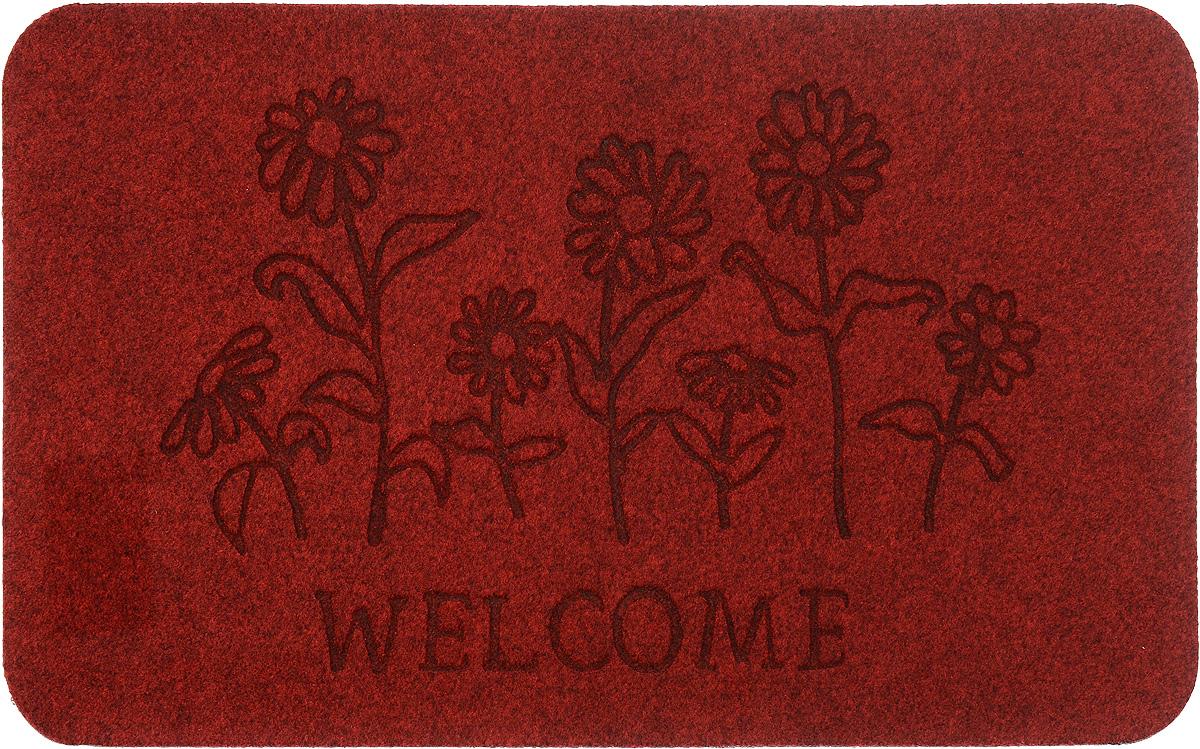 Коврик придверный EFCO Оскар. Цветы, цвет: красный, 70 х 40 см13130/крОригинальный придверный коврик EFCO Оскар. Цветы надежно защитит помещение от уличной пыли и грязи. Изделие выполнено из 100% полипропилена, основа - латекс. Такой коврик сохранит привлекательный внешний вид на долгое время, а благодаря латексной основе, он легко чистится и моется.