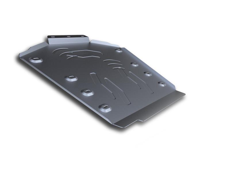 Защита КПП и РК Rival, для AUDI Q7. 333.0320.1333.0320.1Защита КПП и РК для Audi Q7 , V - 3,0TDI; 3,0TFSI; 4,2TDI 2009-2015, крепеж в комплекте, алюминий 4 мм, Rival. Надежно защищают днище вашего автомобиля от повреждений, например при наезде на бордюры, а также выполняют эстетическую функцию при установке на высокие автомобили. - Толщина алюминиевых защит в 2 раза толще стальных, а вес при этом меньше до 30%. - Отлично отводит тепло от двигателя своей поверхностью, что спасает двигатель от перегрева в летний период или при высоких нагрузках. - В отличие от стальных, алюминиевые защиты не поддаются коррозии, что гарантирует срок службы защит более 5 лет. - Покрываются порошковой краской, что надолго сохраняет первоначальный вид новой защиты и защищает от гальванической коррозии. - Глубокий штамп дополнительно усиливает конструкцию защиты. - Подштамповка в местах крепления защищает крепеж от срезания. - Технологические отверстия там, где они необходимы для смены масла...