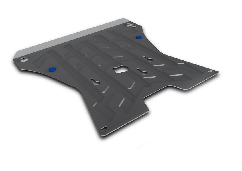 Защита картера и КПП Rival, для AUDI Q5. 333.0321.1333.0321.1Защита картера и КПП для Audi Q5 , V - все 2008-2012 2012-, крепеж в комплекте, алюминий 4 мм, Rival. Надежно защищают днище вашего автомобиля от повреждений, например при наезде на бордюры, а также выполняют эстетическую функцию при установке на высокие автомобили. - Толщина алюминиевых защит в 2 раза толще стальных, а вес при этом меньше до 30%. - Отлично отводит тепло от двигателя своей поверхностью, что спасает двигатель от перегрева в летний период или при высоких нагрузках. - В отличие от стальных, алюминиевые защиты не поддаются коррозии, что гарантирует срок службы защит более 5 лет. - Покрываются порошковой краской, что надолго сохраняет первоначальный вид новой защиты и защищает от гальванической коррозии. - Глубокий штамп дополнительно усиливает конструкцию защиты. - Подштамповка в местах крепления защищает крепеж от срезания. - Технологические отверстия там, где они необходимы для смены масла и слива...