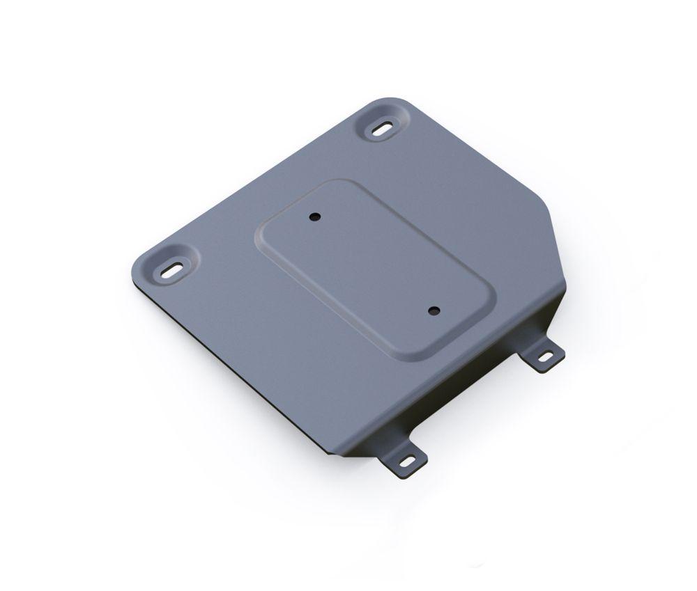 Защита раздатки Rival, для AUDI Q7. 333.0331.1333.0331.1Алюминиевые защиты картера Rival надежно защищают днище автомобиля от повреждений при наезде на бордюры, выступающие канализационные люки, кромки поврежденного асфальта или при ремонте дорог, не говоря уже о загородных дорогах. Толщина алюминиевых защит Rival - 4 мм, что в 2 раза толще стальных, а вес при этом меньше на 30%. Алюминий отлично отводит тепло от двигателя своей поверхностью, что спасает его от перегрева в летний период или при высоких нагрузках. В отличие от стальных, алюминиевые защиты не поддаются коррозии, что гарантирует срок службы защит более 5 лет. Отметим, что на рынке только алюминиевые защиты Rival дополнительно покрываются порошковой краской, что надолго сохраняет первоначальный вид новой защиты.