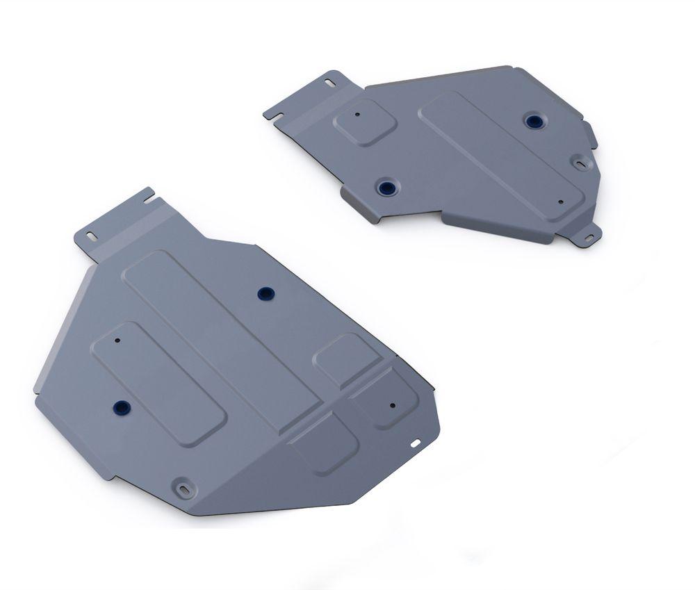 Защита топливного бака Rival, для AUDI Q7. 333.0332.1333.0332.1Алюминиевые защиты картера Rival надежно защищают днище автомобиля от повреждений при наезде на бордюры, выступающие канализационные люки, кромки поврежденного асфальта или при ремонте дорог, не говоря уже о загородных дорогах. Толщина алюминиевых защит Rival - 4 мм, что в 2 раза толще стальных, а вес при этом меньше на 30%. Алюминий отлично отводит тепло от двигателя своей поверхностью, что спасает его от перегрева в летний период или при высоких нагрузках. В отличие от стальных, алюминиевые защиты не поддаются коррозии, что гарантирует срок службы защит более 5 лет. Отметим, что на рынке только алюминиевые защиты Rival дополнительно покрываются порошковой краской, что надолго сохраняет первоначальный вид новой защиты.