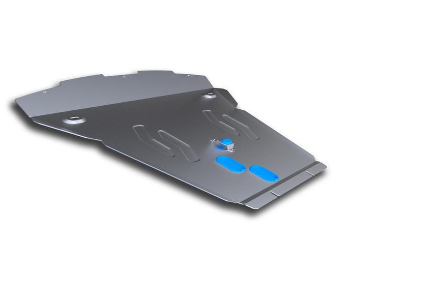 Защита картера Rival, для BMW X6. 333.0504.1333.0504.1Защита картера для BMW X6 , 30d; 35i 2008-2014 2014-, крепеж в комплекте, алюминий 4 мм, Rival. Надежно защищают днище вашего автомобиля от повреждений, например при наезде на бордюры, а также выполняют эстетическую функцию при установке на высокие автомобили. - Толщина алюминиевых защит в 2 раза толще стальных, а вес при этом меньше до 30%. - Отлично отводит тепло от двигателя своей поверхностью, что спасает двигатель от перегрева в летний период или при высоких нагрузках. - В отличие от стальных, алюминиевые защиты не поддаются коррозии, что гарантирует срок службы защит более 5 лет. - Покрываются порошковой краской, что надолго сохраняет первоначальный вид новой защиты и защищает от гальванической коррозии. - Глубокий штамп дополнительно усиливает конструкцию защиты. - Подштамповка в местах крепления защищает крепеж от срезания. - Технологические отверстия там, где они необходимы для смены масла и слива...
