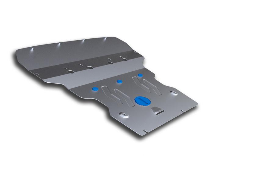 Защита картера Rival, для BMW 5/GT. 333.0513.2333.0513.2Защита картера для BMW 5 , 528i xDrive, 530d xDrive 2010-, крепеж в комплекте, алюминий 4 мм, Rival. Надежно защищают днище вашего автомобиля от повреждений, например при наезде на бордюры, а также выполняют эстетическую функцию при установке на высокие автомобили. - Толщина алюминиевых защит в 2 раза толще стальных, а вес при этом меньше до 30%. - Отлично отводит тепло от двигателя своей поверхностью, что спасает двигатель от перегрева в летний период или при высоких нагрузках. - В отличие от стальных, алюминиевые защиты не поддаются коррозии, что гарантирует срок службы защит более 5 лет. - Покрываются порошковой краской, что надолго сохраняет первоначальный вид новой защиты и защищает от гальванической коррозии. - Глубокий штамп дополнительно усиливает конструкцию защиты. - Подштамповка в местах крепления защищает крепеж от срезания. - Технологические отверстия там, где они необходимы для смены масла и...