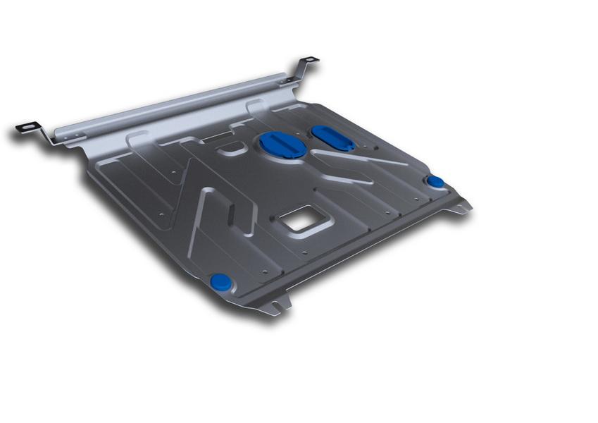 Защита картера и КПП Rival, для Hyundai Solaris/Kia Rio III. 333.2343.1333.2343.1Защита картера и КПП для Hyundai Solaris , V - 1,4, 1,6 2011-2016, крепеж в комплекте, алюминий 3 мм, Rival. Надежно защищают днище вашего автомобиля от повреждений, например при наезде на бордюры, а также выполняют эстетическую функцию при установке на высокие автомобили. - Толщина алюминиевых защит в 2 раза толще стальных, а вес при этом меньше до 30%. - Отлично отводит тепло от двигателя своей поверхностью, что спасает двигатель от перегрева в летний период или при высоких нагрузках. - В отличие от стальных, алюминиевые защиты не поддаются коррозии, что гарантирует срок службы защит более 5 лет. - Покрываются порошковой краской, что надолго сохраняет первоначальный вид новой защиты и защищает от гальванической коррозии. - Глубокий штамп дополнительно усиливает конструкцию защиты. - Подштамповка в местах крепления защищает крепеж от срезания. - Технологические отверстия там, где они необходимы для смены масла и...