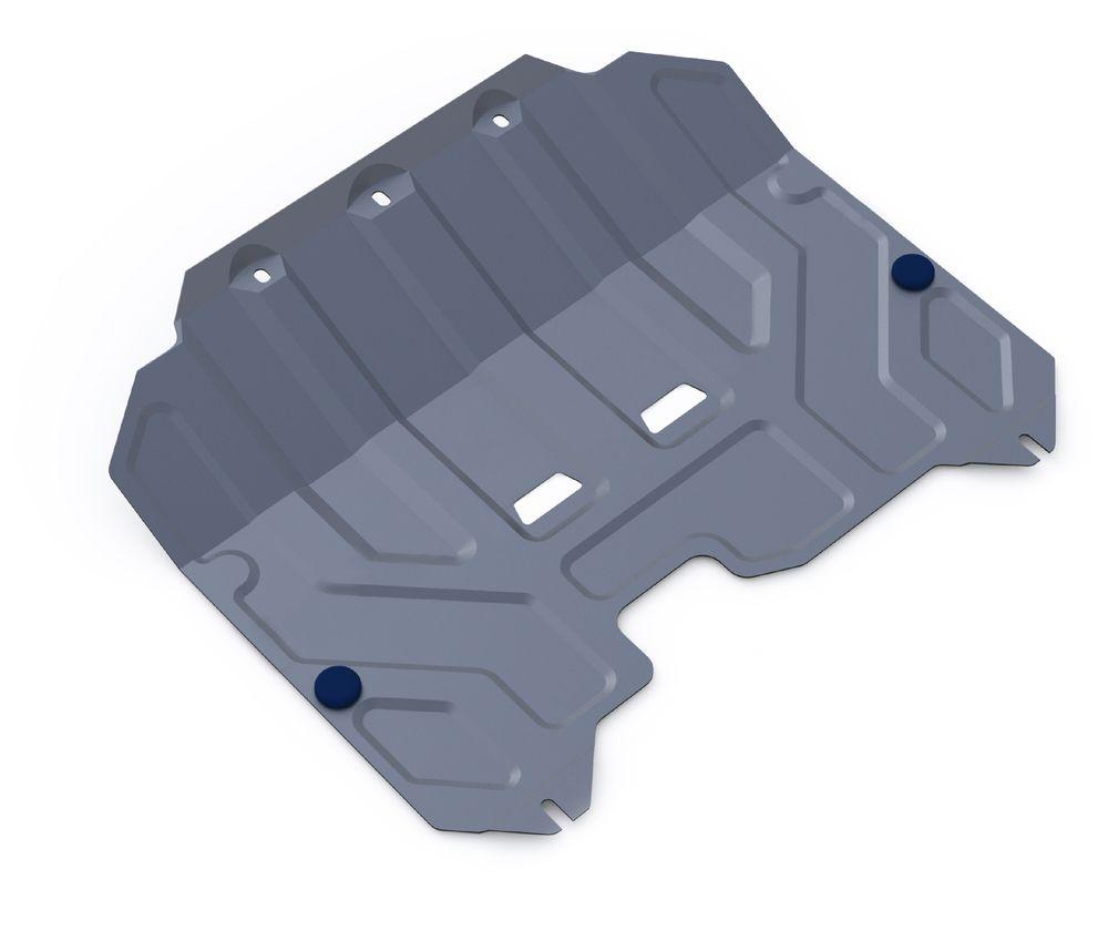 Защита картера и КПП Rival, для Hyundai ix35/Kia Sportage III. 333.2352.1333.2352.1Защита картера и КПП для Hyundai ix35 , V - 2,0 2010-2015, крепеж в комплекте, алюминий 3 мм, Rival. Надежно защищают днище вашего автомобиля от повреждений, например при наезде на бордюры, а также выполняют эстетическую функцию при установке на высокие автомобили. - Толщина алюминиевых защит в 2 раза толще стальных, а вес при этом меньше до 30%. - Отлично отводит тепло от двигателя своей поверхностью, что спасает двигатель от перегрева в летний период или при высоких нагрузках. - В отличие от стальных, алюминиевые защиты не поддаются коррозии, что гарантирует срок службы защит более 5 лет. - Покрываются порошковой краской, что надолго сохраняет первоначальный вид новой защиты и защищает от гальванической коррозии. - Глубокий штамп дополнительно усиливает конструкцию защиты. - Подштамповка в местах крепления защищает крепеж от срезания. - Технологические отверстия там, где они необходимы для смены масла и слива...