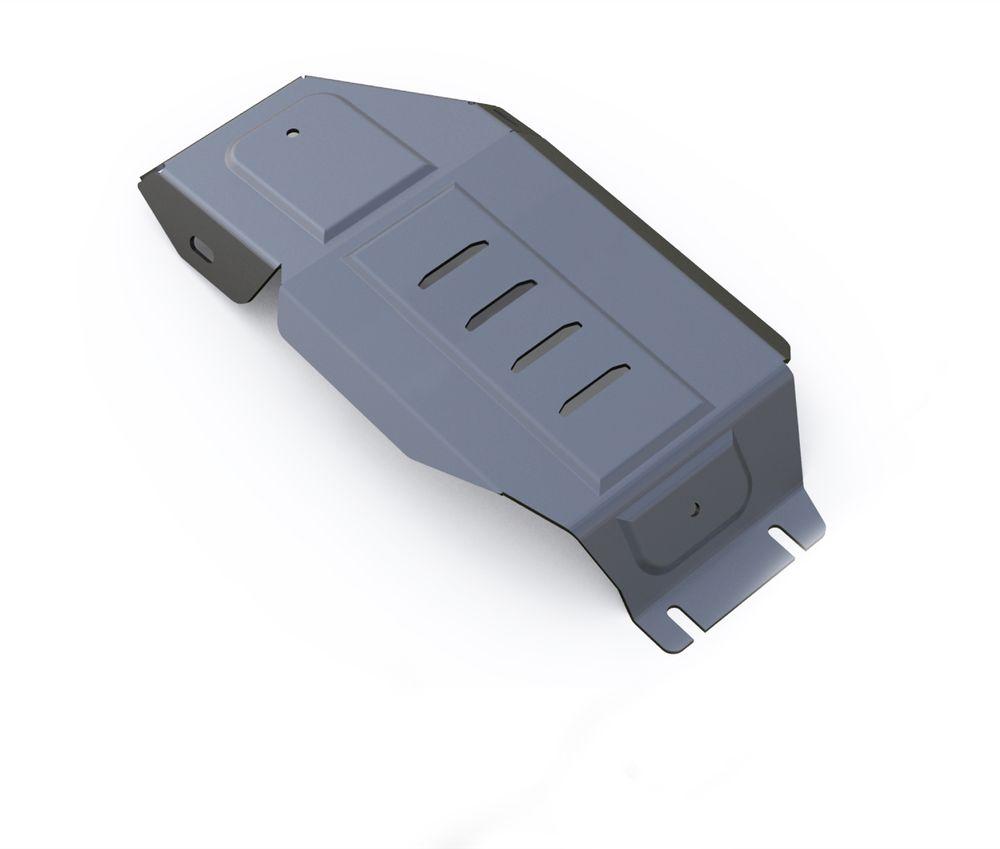 Защита редуктора Rival, для Hyundai Tucson III. 333.2359.1333.2359.1Защита редуктора для Hyundai Tucson АКПП, 4WD V-1,6T(177hp),2,0MPI, 2,0CRDI 2015-, крепеж в комплекте, алюминий 4 мм, Rival. Надежно защищают днище вашего автомобиля от повреждений, например при наезде на бордюры, а также выполняют эстетическую функцию при установке на высокие автомобили. - Толщина алюминиевых защит в 2 раза толще стальных, а вес при этом меньше до 30%. - Отлично отводит тепло от двигателя своей поверхностью, что спасает двигатель от перегрева в летний период или при высоких нагрузках. - В отличие от стальных, алюминиевые защиты не поддаются коррозии, что гарантирует срок службы защит более 5 лет. - Покрываются порошковой краской, что надолго сохраняет первоначальный вид новой защиты и защищает от гальванической коррозии. - Глубокий штамп дополнительно усиливает конструкцию защиты. - Подштамповка в местах крепления защищает крепеж от срезания. - Технологические отверстия там, где они необходимы...