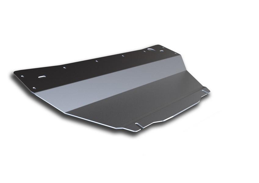 Защита картера Rival, для Infiniti FX 35/FX 37/FX 50/QX 70. 333.2401.1333.2401.1Защита картера для Infiniti QX70 , V - 3,7 2013-; Infiniti QX70 , V - 5,0 2013-; Infiniti FX 35 , V - 3,5 2008-2010; Infiniti FX 37 , V - 3,7 2010-2013; Infiniti FX 50 , V - 5,0 2008-2013, крепеж в комплекте, алюминий 4 мм, Rival. Надежно защищают днище вашего автомобиля от повреждений, например при наезде на бордюры, а также выполняют эстетическую функцию при установке на высокие автомобили. - Толщина алюминиевых защит в 2 раза толще стальных, а вес при этом меньше до 30%. - Отлично отводит тепло от двигателя своей поверхностью, что спасает двигатель от перегрева в летний период или при высоких нагрузках. - В отличие от стальных, алюминиевые защиты не поддаются коррозии, что гарантирует срок службы защит более 5 лет. - Покрываются порошковой краской, что надолго сохраняет первоначальный вид новой защиты и защищает от гальванической коррозии. - Глубокий штамп дополнительно усиливает конструкцию защиты. - Подштамповка в...