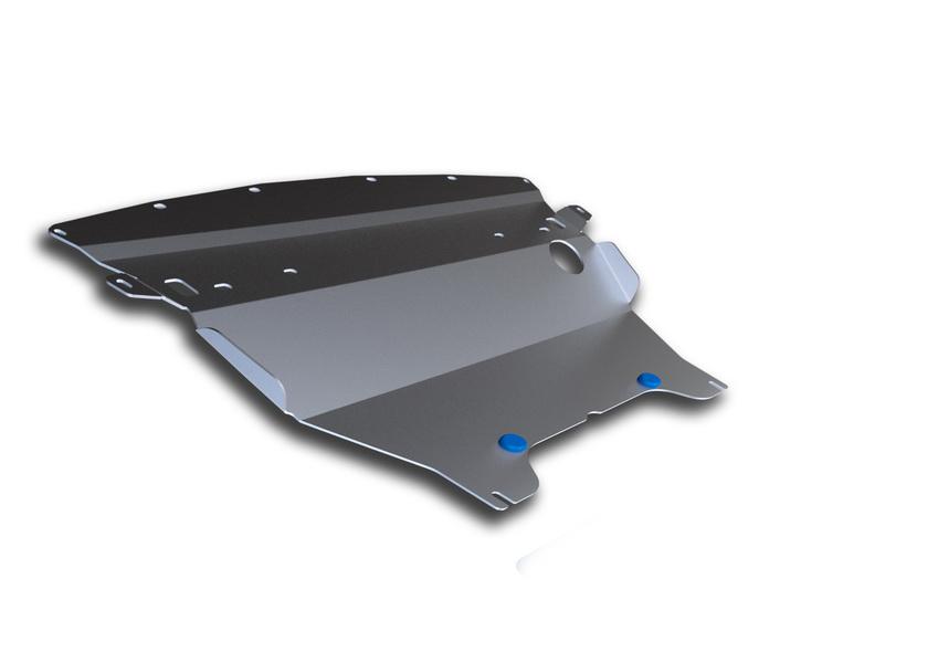 Защита картера Rival, для Infiniti EX 25/EX 35/G 35 Sedan/G 37 Sedan/QX 50. 333.2403.2333.2403.2Защита картера для Infiniti QX50 , V - 2,5 2013-2016 2016-; Infiniti EX 25 , V - 2,5 2008-2013; Infiniti EX 35 , V - 3,5 2008-2013; Infiniti G 35 (Sedan) , V - 3,5 2006-2010; Infiniti G 37 (Sedan) , V - 3,7 2010-2014, крепеж в комплекте, алюминий 4 мм, Rival. Надежно защищают днище вашего автомобиля от повреждений, например при наезде на бордюры, а также выполняют эстетическую функцию при установке на высокие автомобили. - Толщина алюминиевых защит в 2 раза толще стальных, а вес при этом меньше до 30%. - Отлично отводит тепло от двигателя своей поверхностью, что спасает двигатель от перегрева в летний период или при высоких нагрузках. - В отличие от стальных, алюминиевые защиты не поддаются коррозии, что гарантирует срок службы защит более 5 лет. - Покрываются порошковой краской, что надолго сохраняет первоначальный вид новой защиты и защищает от гальванической коррозии. - Глубокий штамп дополнительно усиливает конструкцию...