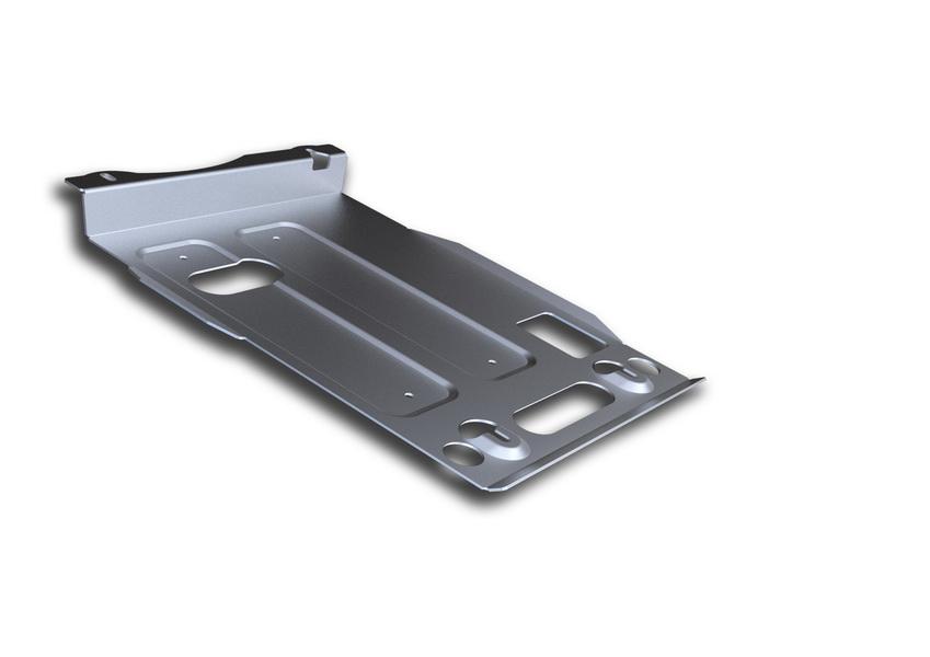 Защита картера Rival, для Jeep Grand Cherokee. 333.2734.1333.2734.1Защита картера для Jeep Grand Cherokee , V - 3,0 ;3TDI; 3,6; 5,7 2010-2014 2014-, крепеж в комплекте, алюминий 4 мм, Rival. Надежно защищают днище вашего автомобиля от повреждений, например при наезде на бордюры, а также выполняют эстетическую функцию при установке на высокие автомобили. - Толщина алюминиевых защит в 2 раза толще стальных, а вес при этом меньше до 30%. - Отлично отводит тепло от двигателя своей поверхностью, что спасает двигатель от перегрева в летний период или при высоких нагрузках. - В отличие от стальных, алюминиевые защиты не поддаются коррозии, что гарантирует срок службы защит более 5 лет. - Покрываются порошковой краской, что надолго сохраняет первоначальный вид новой защиты и защищает от гальванической коррозии. - Глубокий штамп дополнительно усиливает конструкцию защиты. - Подштамповка в местах крепления защищает крепеж от срезания. - Технологические отверстия там, где они необходимы...