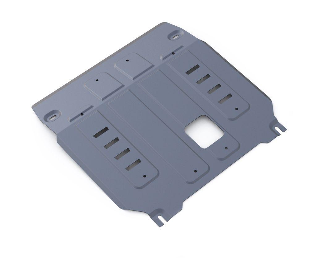 Защита картера и КПП Rival, для Kia Sorento Prime. 333.2831.1333.2831.1Защита картера и КПП для Kia Sorento Prime 4WD, V- 2,2CRDi; 2,4 2015-, крепеж в комплекте, алюминий 4 мм, Rival. Надежно защищают днище вашего автомобиля от повреждений, например при наезде на бордюры, а также выполняют эстетическую функцию при установке на высокие автомобили. - Толщина алюминиевых защит в 2 раза толще стальных, а вес при этом меньше до 30%. - Отлично отводит тепло от двигателя своей поверхностью, что спасает двигатель от перегрева в летний период или при высоких нагрузках. - В отличие от стальных, алюминиевые защиты не поддаются коррозии, что гарантирует срок службы защит более 5 лет. - Покрываются порошковой краской, что надолго сохраняет первоначальный вид новой защиты и защищает от гальванической коррозии. - Глубокий штамп дополнительно усиливает конструкцию защиты. - Подштамповка в местах крепления защищает крепеж от срезания. - Технологические отверстия там, где они необходимы для смены...