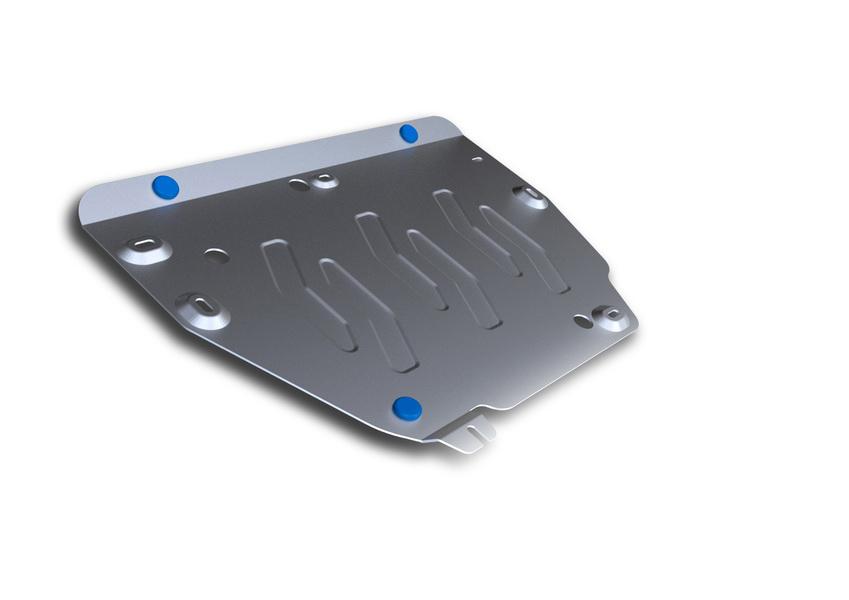 Защита картера и КПП Rival, для Land Rover Range Rover Evoque. 333.3103.1333.3103.1Защита картера и КПП для Land Rover Discovery Sport, V-2,0(240hp), 2,2d (188hp), 2,2d (150hp) 2014-, крепеж в комплекте, алюминий 4 мм, Rival. Надежно защищают днище вашего автомобиля от повреждений, например при наезде на бордюры, а также выполняют эстетическую функцию при установке на высокие автомобили. - Толщина алюминиевых защит в 2 раза толще стальных, а вес при этом меньше до 30%. - Отлично отводит тепло от двигателя своей поверхностью, что спасает двигатель от перегрева в летний период или при высоких нагрузках. - В отличие от стальных, алюминиевые защиты не поддаются коррозии, что гарантирует срок службы защит более 5 лет. - Покрываются порошковой краской, что надолго сохраняет первоначальный вид новой защиты и защищает от гальванической коррозии. - Глубокий штамп дополнительно усиливает конструкцию защиты. - Подштамповка в местах крепления защищает крепеж от срезания. - Технологические отверстия там,...