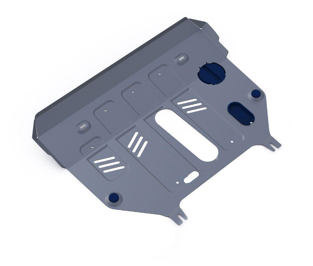 Защита картера и КПП Rival, для Lexus NX 300h. 333.3206.1333.3206.1Защита картера и КПП для Lexus NX, 300h, AWD V-2,5 Hybrid 2014-, крепеж в комплекте, алюминий 3 мм, Rival. Надежно защищают днище вашего автомобиля от повреждений, например при наезде на бордюры, а также выполняют эстетическую функцию при установке на высокие автомобили. - Толщина алюминиевых защит в 2 раза толще стальных, а вес при этом меньше до 30%. - Отлично отводит тепло от двигателя своей поверхностью, что спасает двигатель от перегрева в летний период или при высоких нагрузках. - В отличие от стальных, алюминиевые защиты не поддаются коррозии, что гарантирует срок службы защит более 5 лет. - Покрываются порошковой краской, что надолго сохраняет первоначальный вид новой защиты и защищает от гальванической коррозии. - Глубокий штамп дополнительно усиливает конструкцию защиты. - Подштамповка в местах крепления защищает крепеж от срезания. - Технологические отверстия там, где они необходимы для смены масла и...