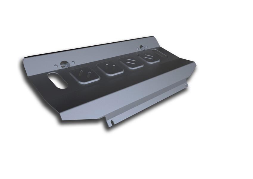 Защита радиатора Rival, для Mitsubishi Pajero IV. 333.4012.1333.4012.1Защита радиатора для Mitsubishi Pajero IV , V - 3,0; 3,2(188hp, 200hp); 3,8 2006-2011 2011-2016, крепеж в комплекте, алюминий 4 мм, Rival. Надежно защищают днище вашего автомобиля от повреждений, например при наезде на бордюры, а также выполняют эстетическую функцию при установке на высокие автомобили. - Толщина алюминиевых защит в 2 раза толще стальных, а вес при этом меньше до 30%. - Отлично отводит тепло от двигателя своей поверхностью, что спасает двигатель от перегрева в летний период или при высоких нагрузках. - В отличие от стальных, алюминиевые защиты не поддаются коррозии, что гарантирует срок службы защит более 5 лет. - Покрываются порошковой краской, что надолго сохраняет первоначальный вид новой защиты и защищает от гальванической коррозии. - Глубокий штамп дополнительно усиливает конструкцию защиты. - Подштамповка в местах крепления защищает крепеж от срезания. - Технологические отверстия там, где...
