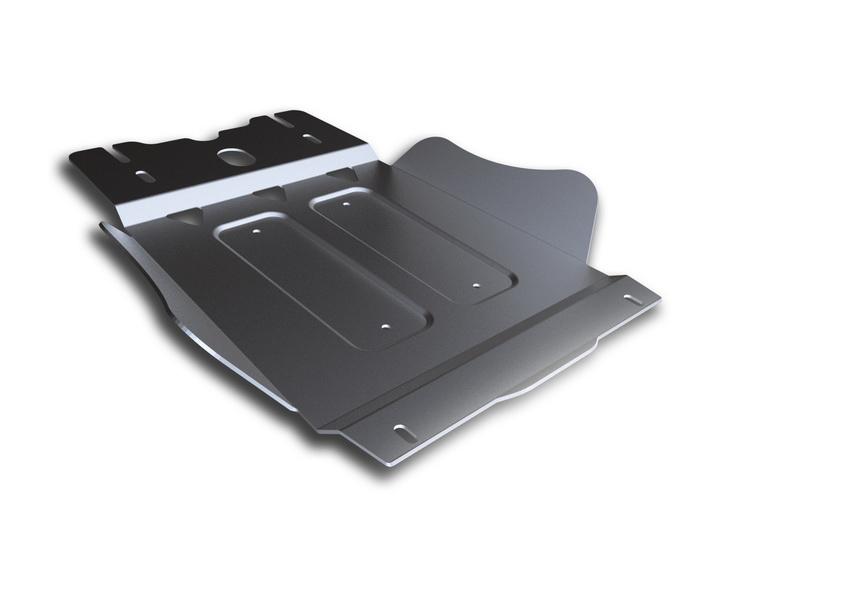 Защита КПП Rival, для Mitsubishi L200/Pajero Sport. 333.4024.1333.4024.1Защита КПП для Mitsubishi Pajero Sport , V - все 2008-2016, крепеж в комплекте, алюминий 4 мм, Rival. Надежно защищают днище вашего автомобиля от повреждений, например при наезде на бордюры, а также выполняют эстетическую функцию при установке на высокие автомобили. - Толщина алюминиевых защит в 2 раза толще стальных, а вес при этом меньше до 30%. - Отлично отводит тепло от двигателя своей поверхностью, что спасает двигатель от перегрева в летний период или при высоких нагрузках. - В отличие от стальных, алюминиевые защиты не поддаются коррозии, что гарантирует срок службы защит более 5 лет. - Покрываются порошковой краской, что надолго сохраняет первоначальный вид новой защиты и защищает от гальванической коррозии. - Глубокий штамп дополнительно усиливает конструкцию защиты. - Подштамповка в местах крепления защищает крепеж от срезания. - Технологические отверстия там, где они необходимы для смены масла и слива...