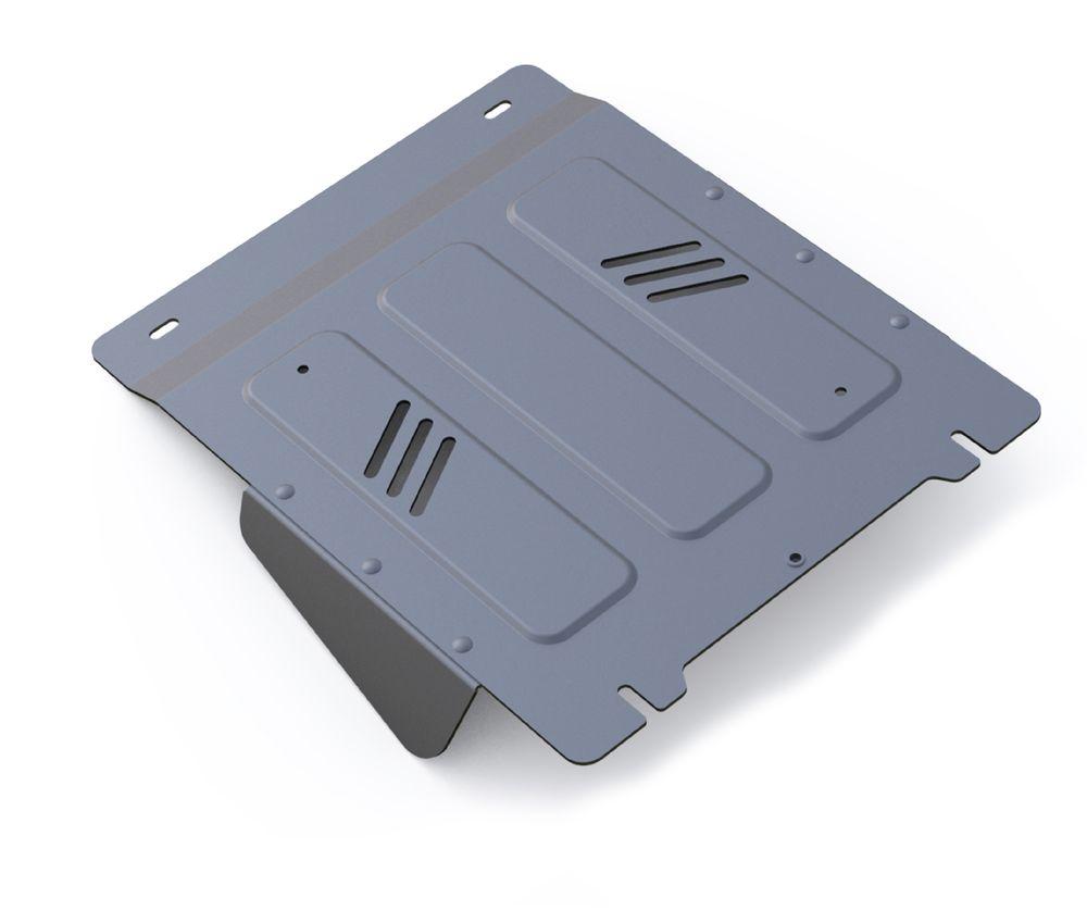 Защита КПП Rival, для Mitsubishi L200. 333.4042.1333.4042.1Защита КПП для Mitsubishi L200 4WD , V - 2,4DID; 2,4DID H.P. 2015-, крепеж в комплекте, алюминий 4 мм, Rival. Надежно защищают днище вашего автомобиля от повреждений, например при наезде на бордюры, а также выполняют эстетическую функцию при установке на высокие автомобили. - Толщина алюминиевых защит в 2 раза толще стальных, а вес при этом меньше до 30%. - Отлично отводит тепло от двигателя своей поверхностью, что спасает двигатель от перегрева в летний период или при высоких нагрузках. - В отличие от стальных, алюминиевые защиты не поддаются коррозии, что гарантирует срок службы защит более 5 лет. - Покрываются порошковой краской, что надолго сохраняет первоначальный вид новой защиты и защищает от гальванической коррозии. - Глубокий штамп дополнительно усиливает конструкцию защиты. - Подштамповка в местах крепления защищает крепеж от срезания. - Технологические отверстия там, где они необходимы для смены масла...