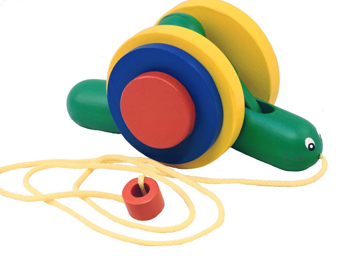 Таис Игрушка-каталка УлиткаЦИКУ001Забавная улитка не оставит равнодушным вашего малыша. Ее можно возить за собой за веревочку или просто играть с ней.