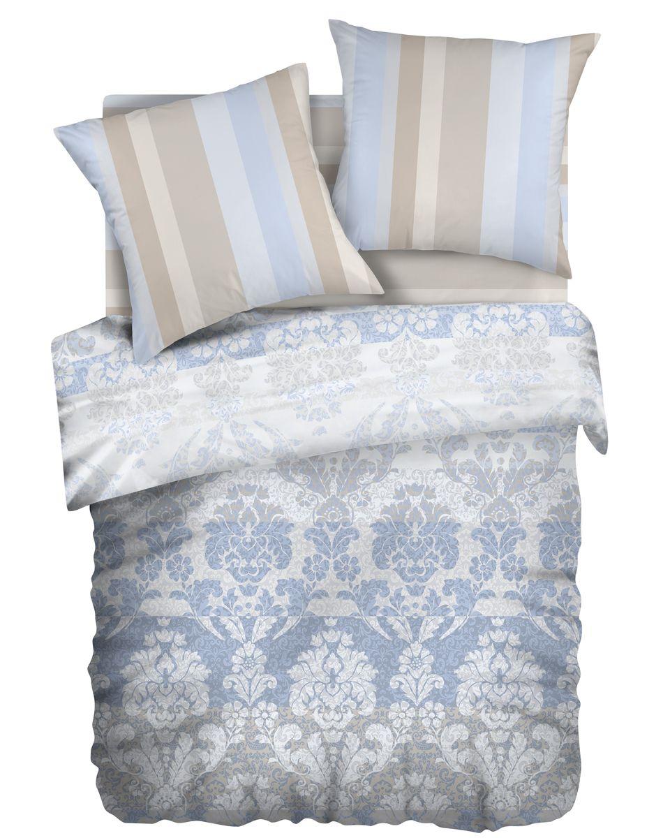 Комплект белья Romantic Александрия, 1,5 спальное, наволочки 70 x 70, цвет: голубой. 251097251097