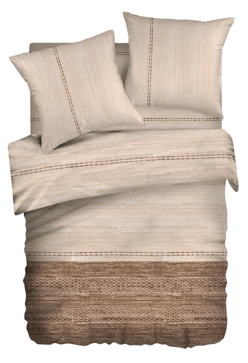 Комплект белья Wenge Nature, евро, наволочки 70 x 70, цвет: коричневый. 276321276321