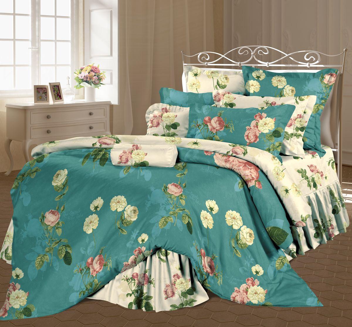 Комплект белья Романтика Жустин, 1,5 спальное, наволочки 70 x 70. 318706318706