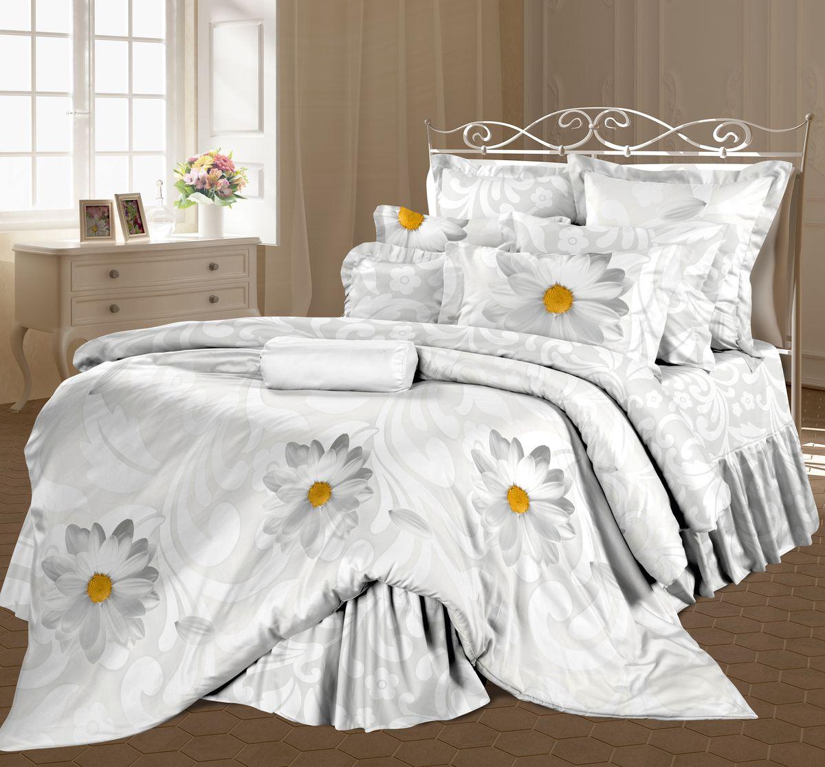Комплект белья Романтика Флирт, 1,5 спальное, наволочки 70 x 70. 325244325244