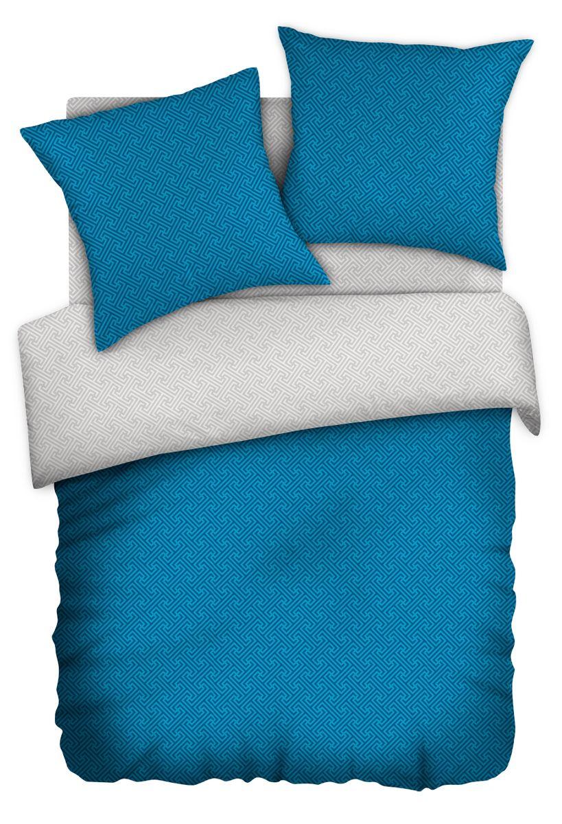 Комплект белья Wenge Серебряная лазурь, 1,5 спальное, наволочки 70 x 70. 337398