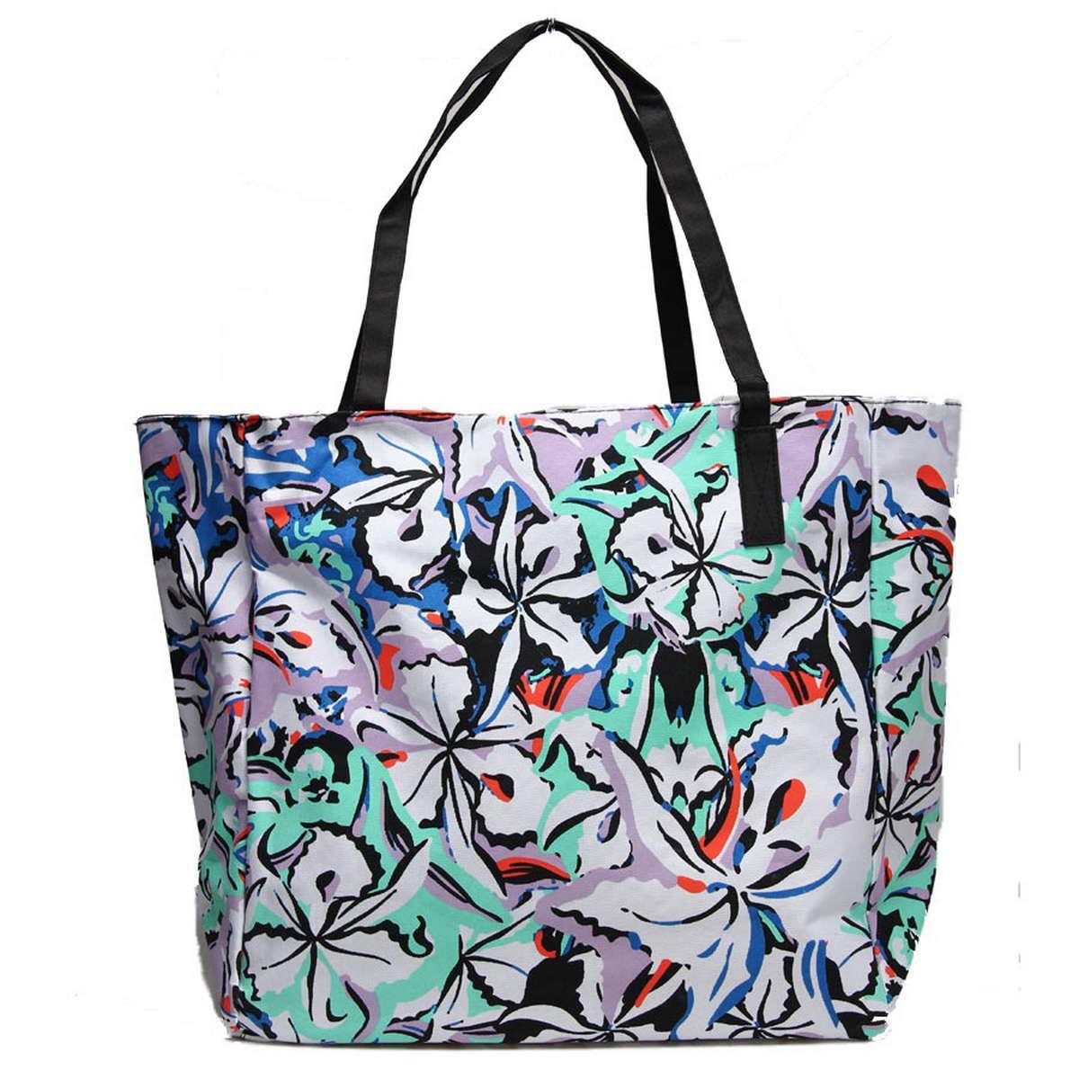 Сумка пляжная Venera, цвет: синий, белый, бирюза. 1200556-1/11200556-1/1Отличная пляжная сумка станет чудесным аксессуаром этого сезона, а стильный дизайн и средние размеры позволят Вам вместить все нужные вещи.