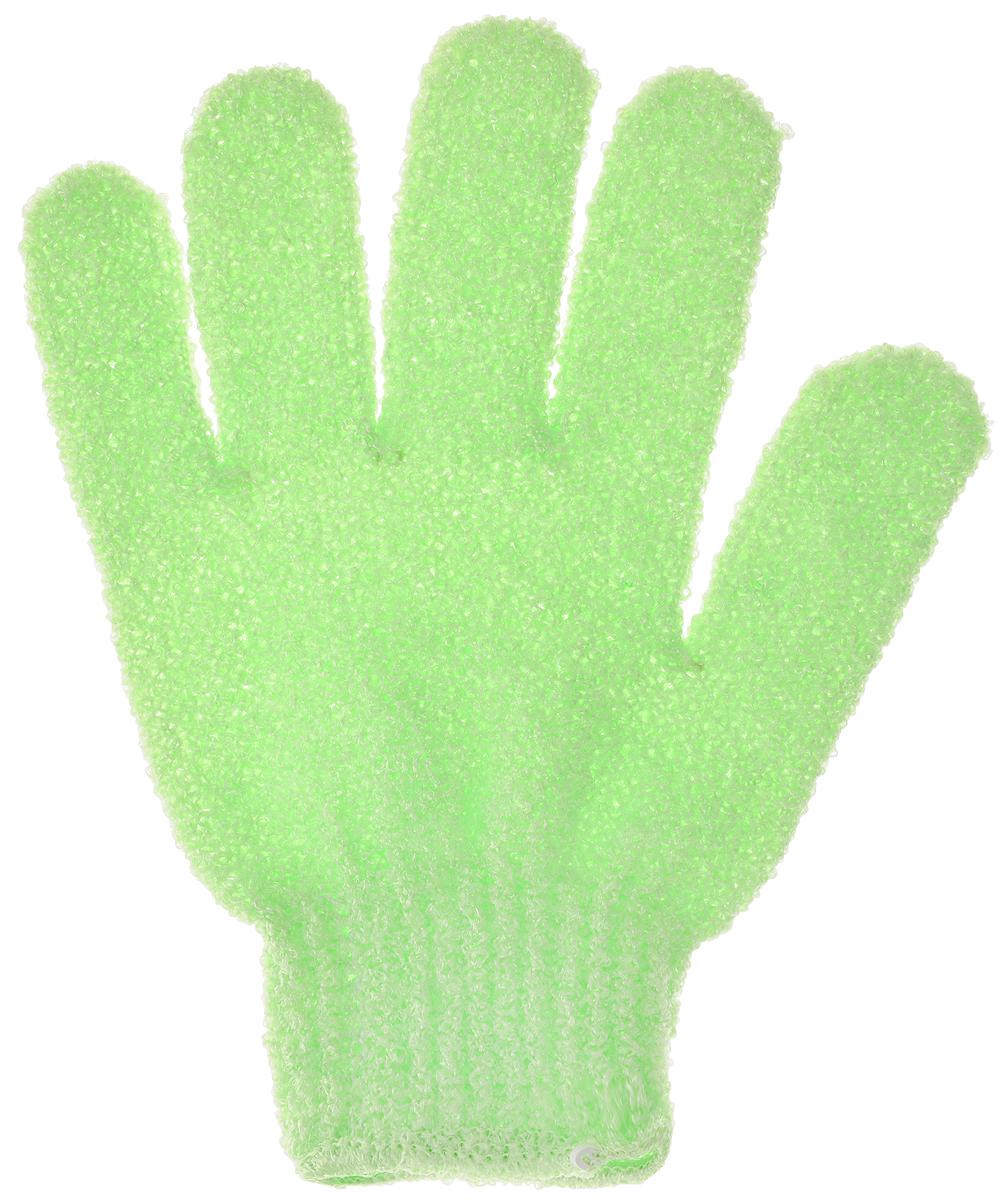Мочалка-рукавица для тела Fun Fresh Талия, массажная, цвет: салатовый1,16_салатовыйМочалка-рукавица Fun Fresh Талия, выполненная из нейлона, прекрасно подходит для мягкого очищения и отшелушивания кожи. Стимулирует кровообращение и улучшает общее состояние кожи. Благодаря специальной текстуре мочалка создает насыщенную воздушную пену. Превосходно вспенивает мыло и гели для душа. Размер мочалки-рукавицы: 19 х 15 см.