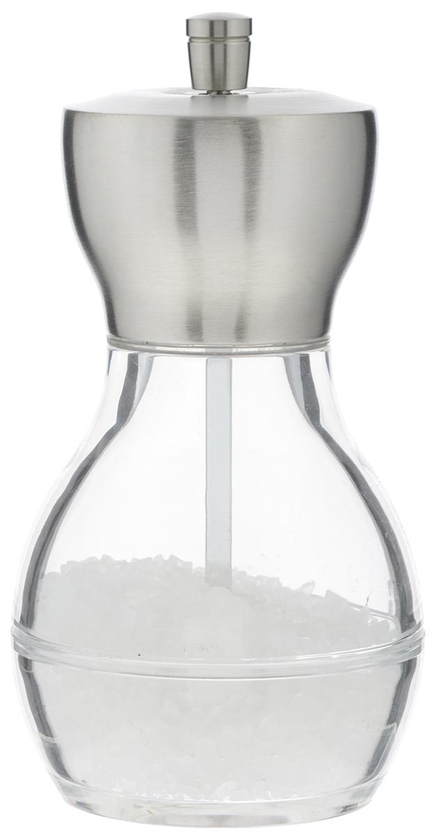 Мельница для соли Cole & Mason CanterburyH60002PМельница для соли Cole & Mason Canterbury поможет быстро измельчить крупные кристаллы соли, а также станет отличной емкостью для хранения. Изделие выполнено из пластика и металла. Прозрачные стенки позволяют видеть содержимое. Мельница поставляется наполненная солью.