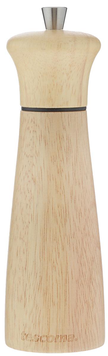 Мельница для перца и соли Tescoma Virgo Wood, высота 18 см658221Мельница для перца и соли Tescoma Virgo Wood - отличное приспособление для приготовления блюд с различными видами только что молотого перца и соли. Изделие имеет керамический механизм размола и регулировку степени грубости помола перца и соли. В комплекте предусмотрены 2 цветных насадки-кольца - для перца и соли. Мельница выполнена из благородной древесины - бразильского каучука (Hevea brasiliensis). Не предназначена для мытья в посудомоечной машине.