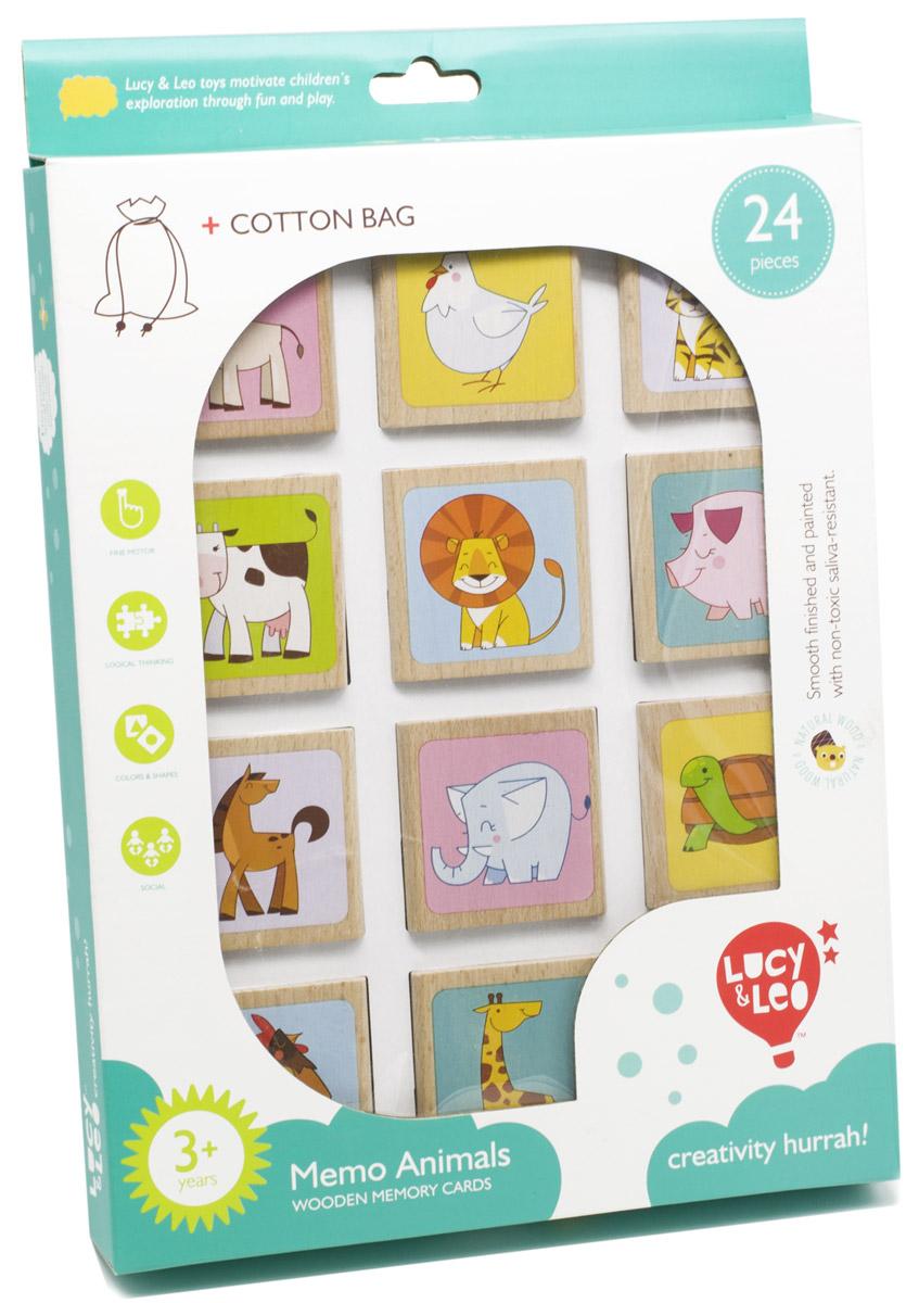 Lucy&Leo Настольная игра Животные МемоLL133Настольная игра Lucy&Leo Животные. Мемо сделана из чистого и качественного дерева. Взяв фигурки в руки, можно почувствовать свежий запах леса и ощутить атмосферу природы. Суть игры заключается в нахождении пары для каждой квадратной фигурки, на которых изображены животные. Эта игра способствует развитию памяти и внимательности, а также позволит малышу узнать, как выглядят различные животные. В комплекте также идет мешочек для хранения фишек.