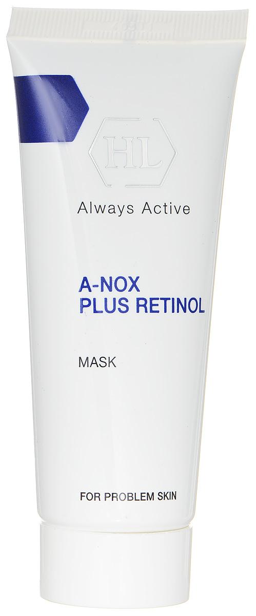 Holy Land Маска для лица A-Nox Plus Retinol Mask, 40 мл114086Лечебная сокращающая противовоспалительная маска для проблемной кожи. Маска оказывает абсорбирующее, успокаивающее, противовоспалительное и антисептическое действие. Поглощает избыток выделений сальных желез, подсушивает воспаления, ускоряет заживление повреждений. Сокращает поры, осветляет поствоспалительные пятна, выравнивает цвет и текстуру кожи. Активные компоненты: бентонит, глицерин, каолин, оксид цинка, диоксид титана, оксид железа черный, аллантоин, салициловая кислота, ретинол.