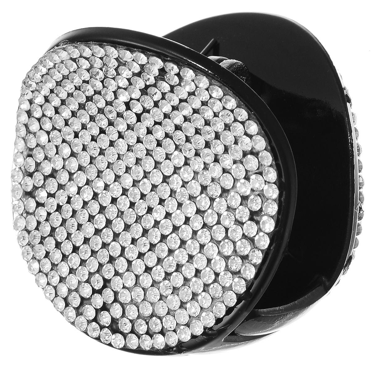 Заколка-краб Fashion House, цвет: белый, черный. FH32984