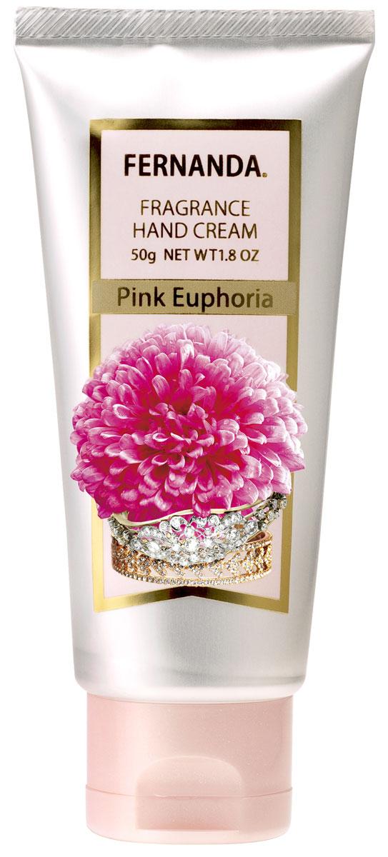 Fernanda Парфюмированный крем для рук Розовая Эйфория 50 гр