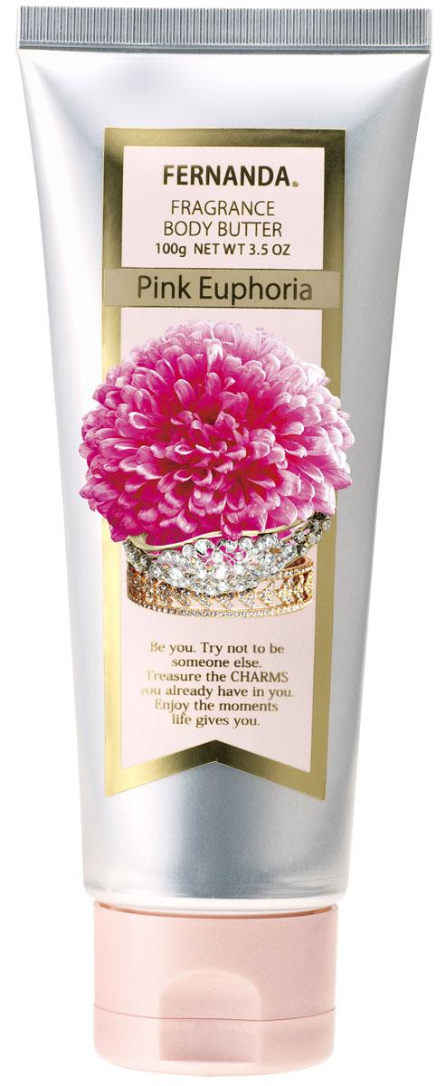Fernanda Парфюмированное крем-масло для тела Розовая эйфория 100 мл