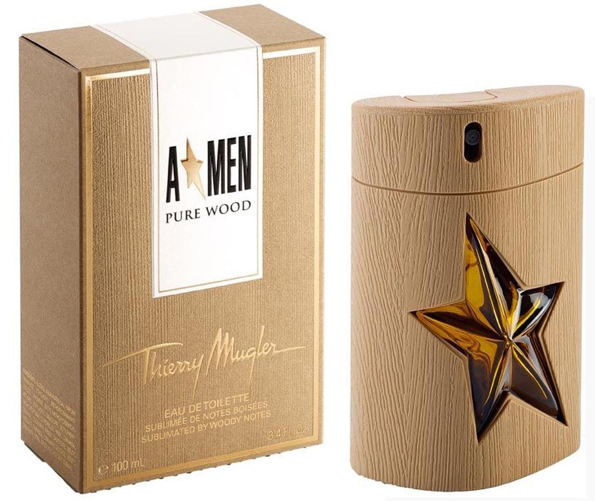 Thierry Mugler Туалетная вода A*Men Pure Wood, мужская, 100 мл13979Восточные, древесные. Дуб, кофе, ваниль, пачули, кипарис.