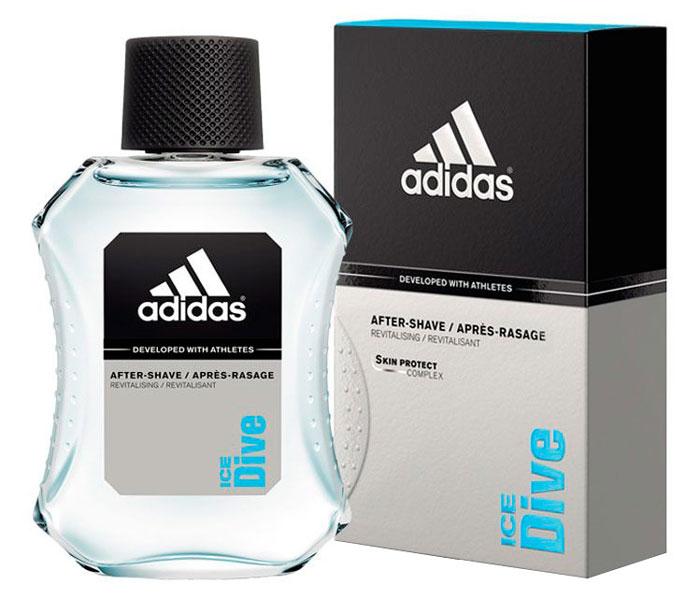 Adidas Лосьон после бритья Ice Dive After Shave, 100 мл340004321/3412242630155Для мужчин, в жизни которых всегда есть место риску и приключению.