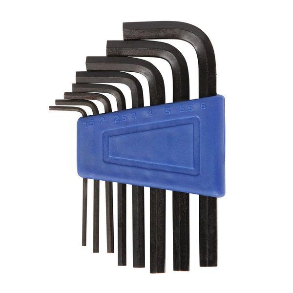 Ключи шестигранники STG YC-623, 1,5/2/2,5/3/4/5/6/8/10, 9 предметов. Х38943-5Х38943-5Ключи STG, включает в себя шестигранники1,5/2/2.5/3/4/5/6/8/10 мм, всего 9 предметов