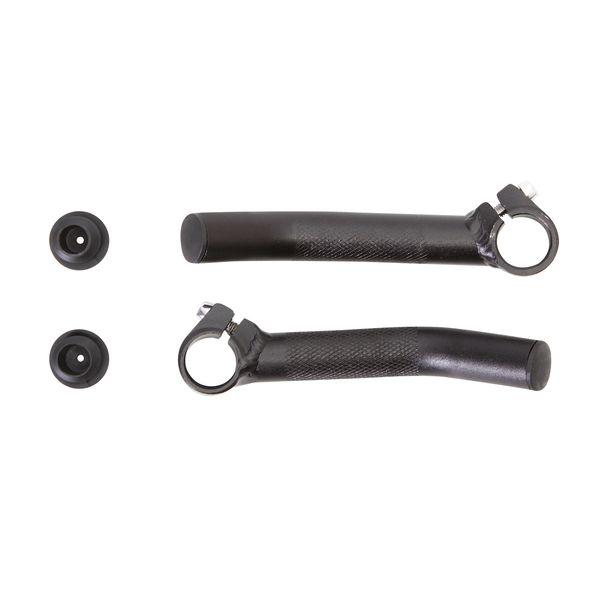 Рога STG HX-Y01-13, пара, цвет: черный. Х56319Х56319Рога HX-Y01-13 алюминий., черн., пара