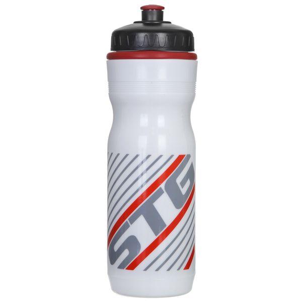 Велофляга STG ED-BT19, 750 мл, цвет: белый. Х61864-5Х61864-5Велофляга STG, ED-BT19, 750мл белый