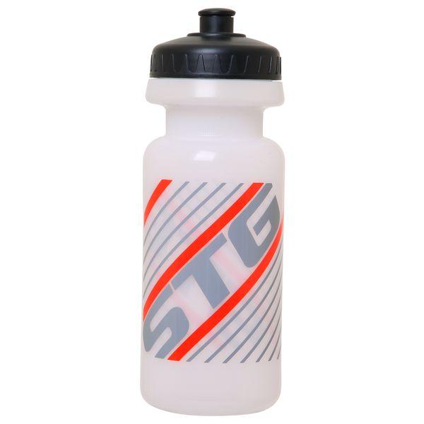 Велофляга STG, без крышки, 600 мл, цвет: белый. Х61865Х61865Велофляга STG 600мл без крышки