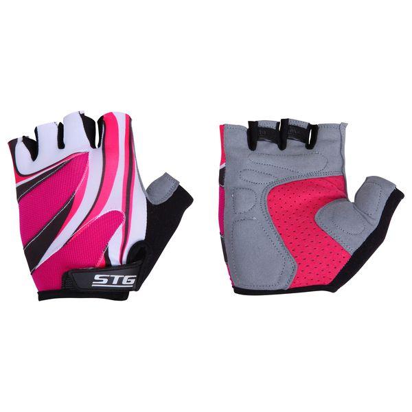 Перчатки велосипедные STG летние, с дышащей системой вентиляции, цвет: розовый. Размер M. Х61901Х61901-МЛетние перчатки STG с дышащей системой вентиляции. Велосипедные перчатки STG обеспечат комфорт во время катания, гарантируя надежный хват за руль велосипеда, и обезопасят руки от ссадин при внезапном падении. Поставляются в индивидуальной упаковке. Для подбора перчаток необходимо измерить ширину ладони. Измерить ее можно линейкой или сантиметром по середине ладони от указательного пальца до мизинца. Соответствие ширины ладони перчаток: M-8,5см