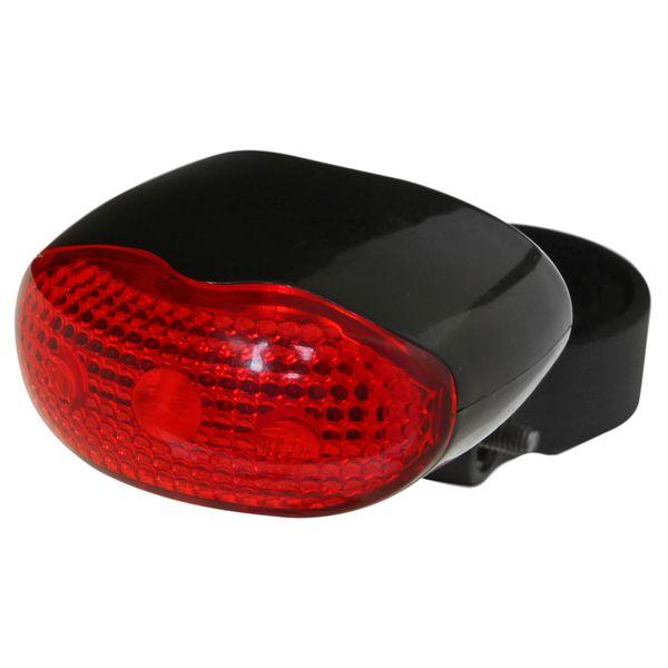 Фонарь велосипедный STG JY-860T, заднийХ66181-5Велосипедный задний фонарь STG JY-860T станет отличным помощником при катании в темное время суток. Фонарик построен на базе трех современных светодиодов. В фонаре реализовано 2 режима свечения. Фонарь легко фиксируется на подседельный штырь или перо с помощью универсального хомута, который предотвращает проскальзывание, с возможностью мгновенно отсоединить его, когда нет желания оставлять на велосипеде без присмотра или под дождем. Фонарь работает от 2 батареек типа ААА (входят в комплект).