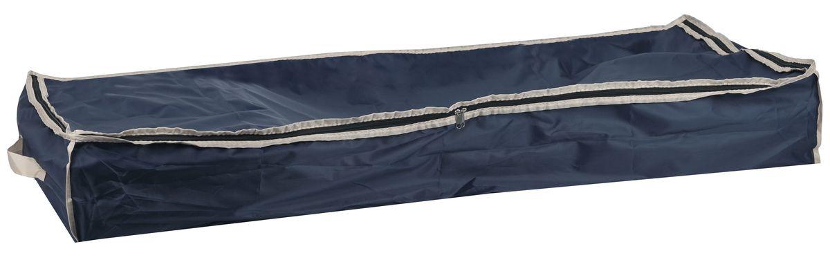 Чехол для хранения вещей White Fox Comfort, цвет: синий 16 х 45 х 90 смWHHH10-366Чехол для хранения White Fox Comfort выполнен из высококачественного полиэстера с пропиткой. Особенность данного материала в том, что его можно протирать, в нем не накапливается пыль, и вещи остаются чистыми. Чехол обеспечит надежное хранение вашей одежды и различных вещей, защитит от повреждений, пыли, грязи во время хранения и транспортировки.