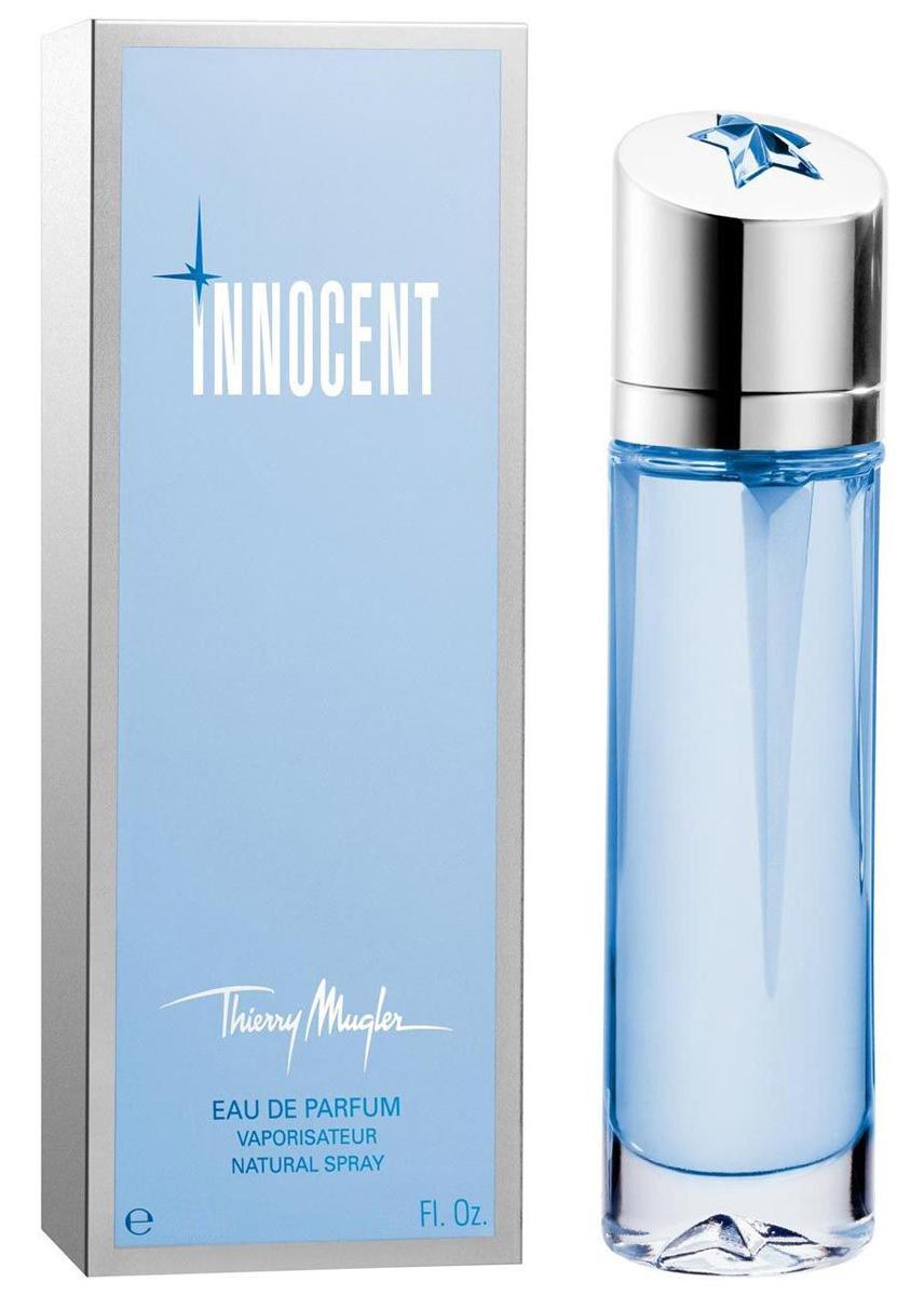 Thierry Mugler Парфюмированная вода Innocent, женская, 25 мл4496Ванильные, ориентальные. Бергамот, мандарин, миндаль, черная смородина, амбра, мускус, пралине.