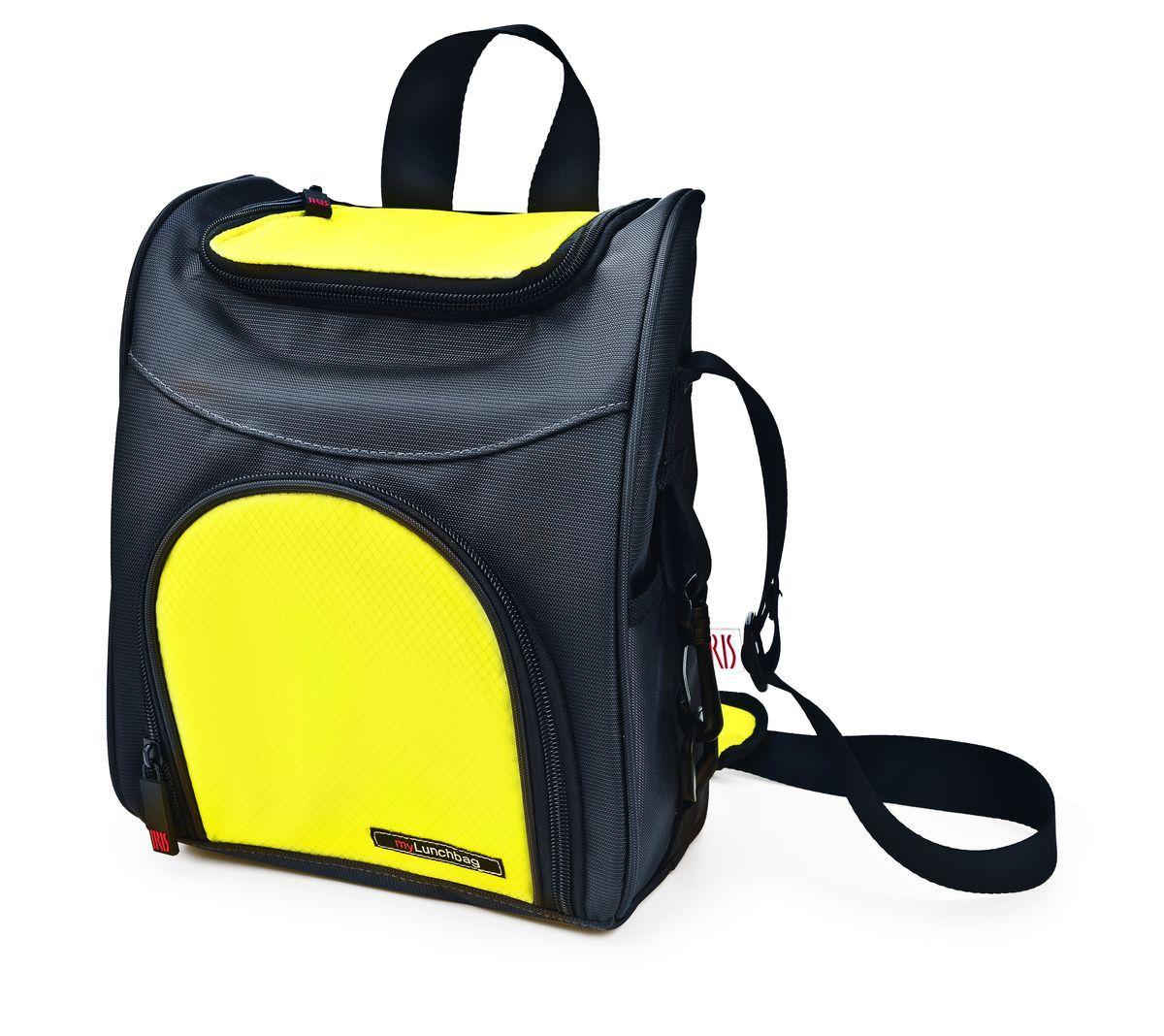 Термо ланч-бокс-рюкзак TRAVELLER MyLunchbag, цвет: серо-желтыйI9363-TXТермоЛанчбокс-рюкзак TRAVELLER? MyLunchbag?. Отлично сохраняет свежесть и вкус продукта на несколько часов. Пригодится везде: на прогулке, на работе, учебе и т.д. С ним легко справится даже ребенок! Обладает большой вместительностью. Присутствует удобный кармашек для аксессуаров, можно повесить на плечо (благодаря регулируемому ремню) и на спину. Рекомендуется регулярно стирать вручную в теплой воде с мылом. Сделан из полиэстера
