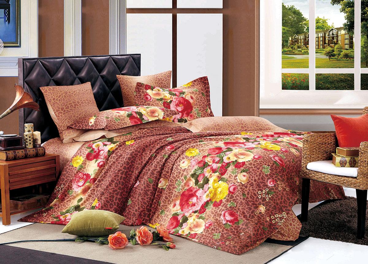 Комплект белья Primavera Classic Осенний сад, 2-спальный, наволочки 70x7072437Комплект постельного белья Primavera Classic Осенний сад является экологически безопасным для всей семьи, так как выполнен из высококачественного сатина (100% хлопка). Комплект состоит из пододеяльника на молнии, простыни и двух наволочек. Постельное белье оформлено ярким рисунком цветов и имеет изысканный внешний вид. Сатин - производится из высших сортов хлопка, а своим блеском и легкостью напоминает шелк. Постельное белье из сатина превращает жаркие летние ночи в прохладные и освежающие, а холодные зимние - в теплые и согревающие. Приобретая комплект постельного белья Primavera Classic Осенний сад, вы можете быть уверенны в том, что покупка доставит вам и вашим близким удовольствие и подарит максимальный комфорт.
