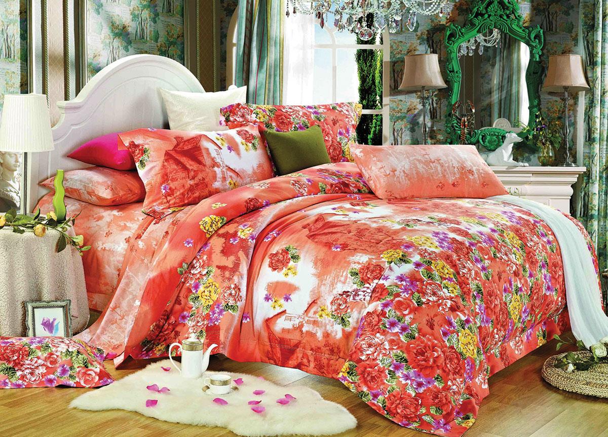Комплект белья Primavera Classic Усадьба, 2-спальный, наволочки 70x7072921Комплект постельного белья Primavera Classic Усадьба является экологически безопасным для всей семьи, так как выполнен из высококачественного сатина (100% хлопка). Комплект состоит из пододеяльника на молнии, простыни и двух наволочек. Постельное белье оформлено ярким рисунком цветов и имеет изысканный внешний вид. Сатин - производится из высших сортов хлопка, а своим блеском и легкостью напоминает шелк. Постельное белье из сатина превращает жаркие летние ночи в прохладные и освежающие, а холодные зимние - в теплые и согревающие. Приобретая комплект постельного белья Primavera Classic Усадьба, вы можете быть уверенны в том, что покупка доставит вам и вашим близким удовольствие и подарит максимальный комфорт.