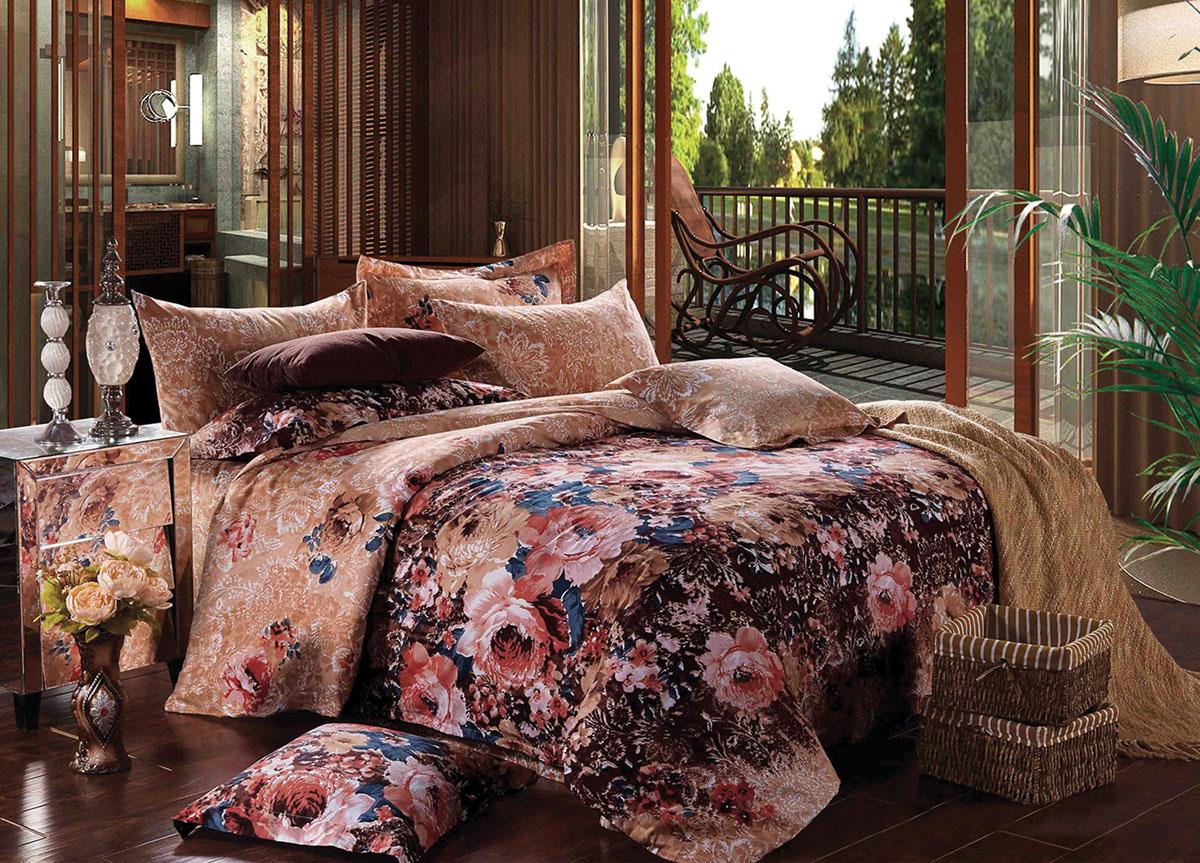 Комплект белья Primavera Classic Чайная роза, 2-спальный, наволочки 70x7073041Комплект постельного белья Primavera Classic Чайная роза является экологически безопасным для всей семьи, так как выполнен из высококачественного сатина (100% хлопка). Комплект состоит из пододеяльника на молнии, простыни и двух наволочек. Постельное белье оформлено ярким рисунком цветов и имеет изысканный внешний вид. Сатин - производится из высших сортов хлопка, а своим блеском и легкостью напоминает шелк. Постельное белье из сатина превращает жаркие летние ночи в прохладные и освежающие, а холодные зимние - в теплые и согревающие. Приобретая комплект постельного белья Primavera Classic Чайная роза, вы можете быть уверенны в том, что покупка доставит вам и вашим близким удовольствие и подарит максимальный комфорт.