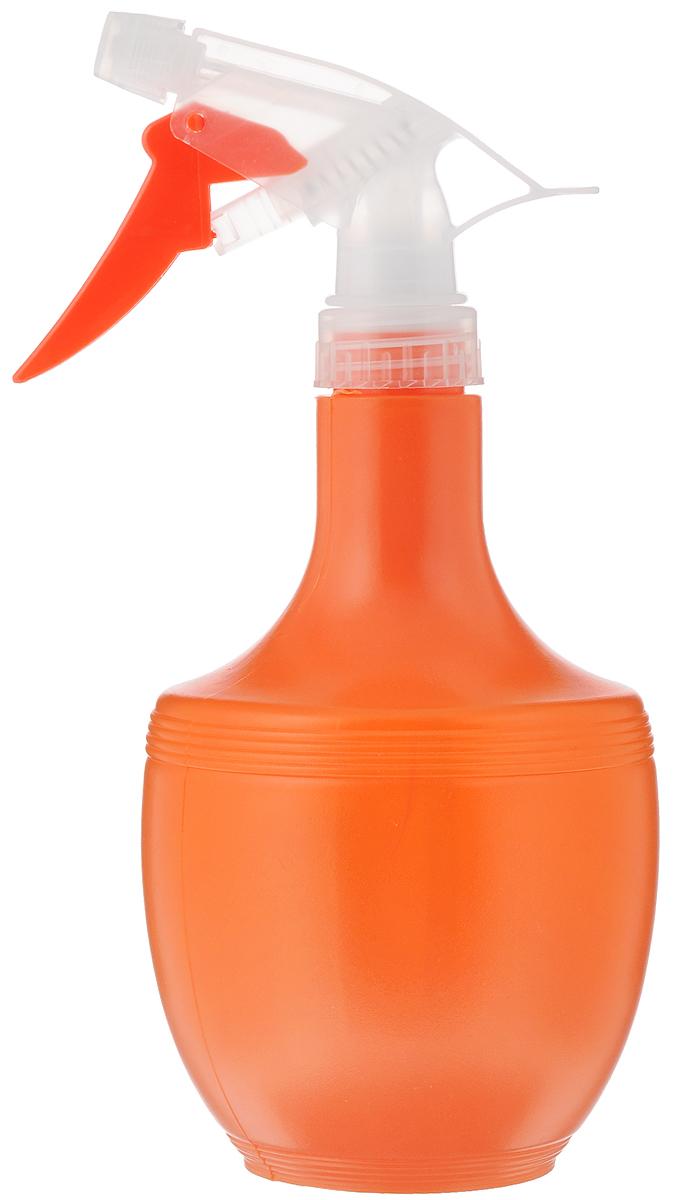 Опрыскиватель Idea, цвет: оранжевый, 500 млМ 2141_оранжевыйЛегкий яркий опрыскиватель Idea выполнен из прочного пластика и оснащен специальной насадкой. Он поможет вам в опрыскивании цветочных клумб, а так же при уходе за вашими комнатными растениями. Каждый любитель цветов знает, что для ухода за растениями нужен опрыскиватель, который является источником влаги для растения, так как известно, существуют цветы, которые нельзя поливать обычным способом.